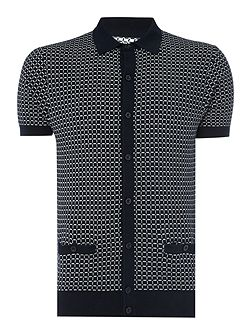 Ramsay Matchstick Check Polo Shirt