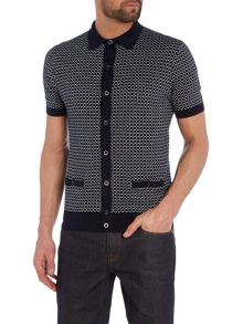 Peter Werth Ramsay Matchstick Check Polo Shirt