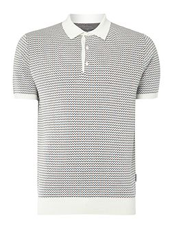 Cosway Cotton Knitted Polo Shirt