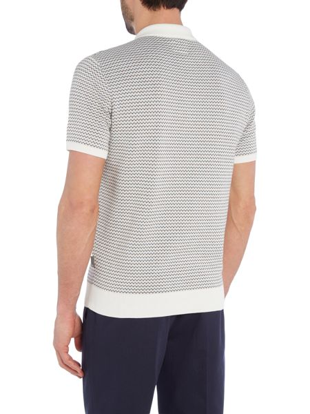 Peter Werth Cosway Cotton Knitted Polo Shirt