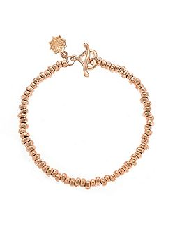 Nomad Rose Gold Nugget Bracelet