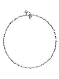 Nomad Silver Rice Necklace