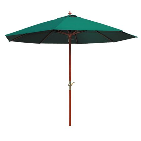 Cozy Bay 3m parasol green crank