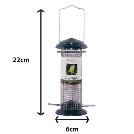 Cozy Bay 9 peanut bird feeder