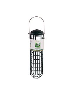 12 suet fat ball bird feeder