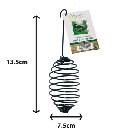 Cozy Bay 5 suet fat ball bird feeder