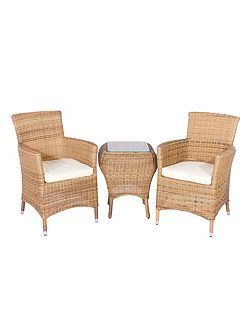 Hawaii 2 seater rattan furniture garden tea for