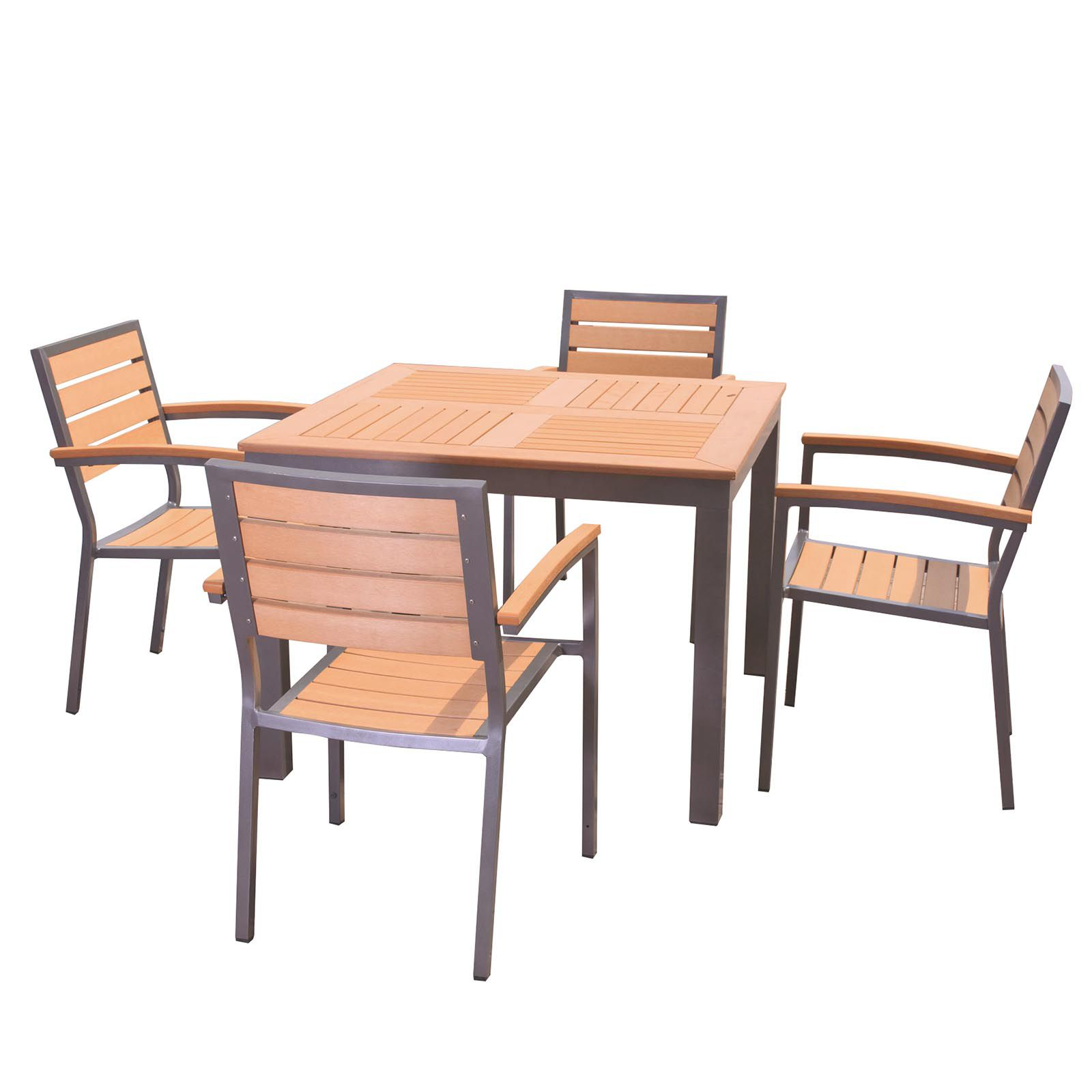 Buy cheap square bistro table compare sheds garden for Garden furniture deals