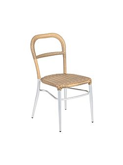 Luca stackable bistro chair 4 seasons flat