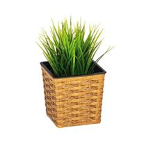 Cozy Bay Square planter 13cm with plastic inlay