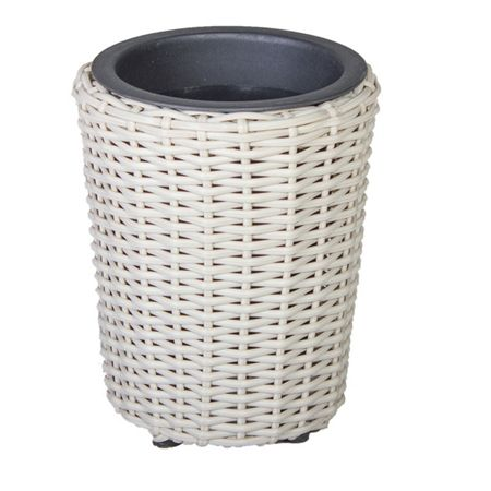 Cozy Bay Round plant pot with iron frame small