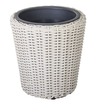 Cozy Bay Round plant pot with iron frame large