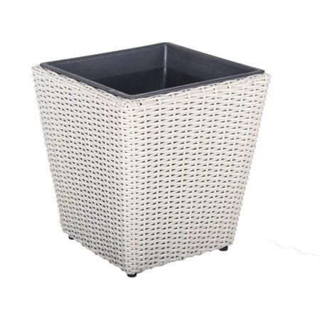 Cozy Bay Square plant pot with iron frame large