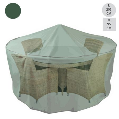 Cozy Bay Round 4-6 dining set cover