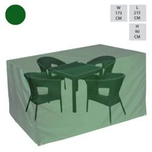 Cozy Bay Rect. 4 seat dining set cover