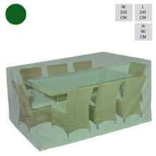 Cozy Bay Rect. 8 seat dining set cover