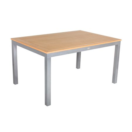 Sol Bistro Syn-teak 6-8 seater rectanglar table teak asian 1
