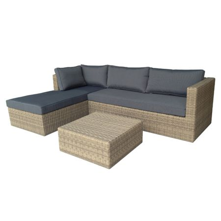 Oseasons Eden lounge corner set with chaise