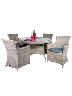 Eden 4 seater dining furniture set