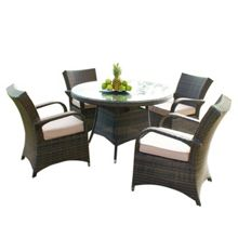 Windsor 4 seater dining furniture set