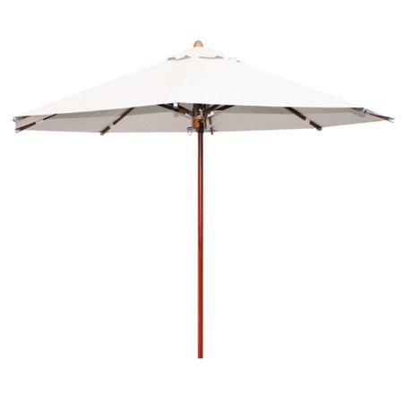 Cozy Bay 3.5m parasol creamy white pulley