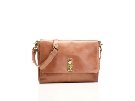 Marshall Bergman Phoenix 11 dusty rose cross body bag