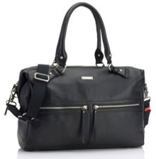 Storksak Caroline leather changing bag