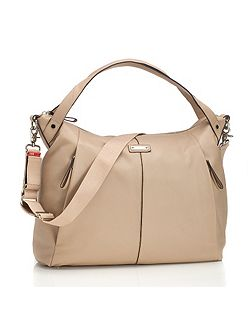 Catherine Leather Almond Changing Bag