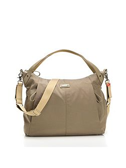 Catherine Nylon Moss Changing Bag