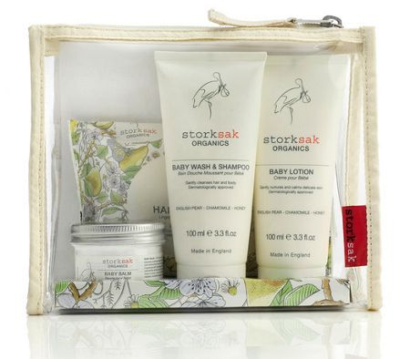 Storksak Organic Little Traveller Gift Set