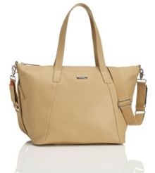Storksak Noa Leather Light Tan Bag