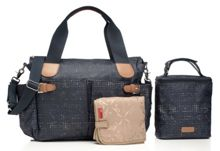 Storksak Kate Crosshatch Navy