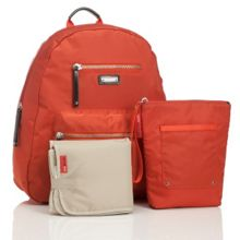Storksak Backpack Changing Bag - Burnt Orange