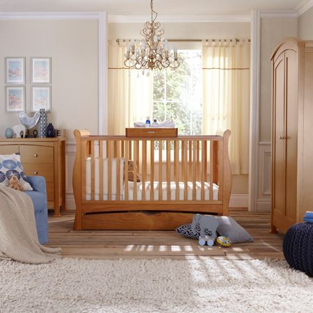 Izziwotnot Bailey 3 Piece Nursery Furniture Set