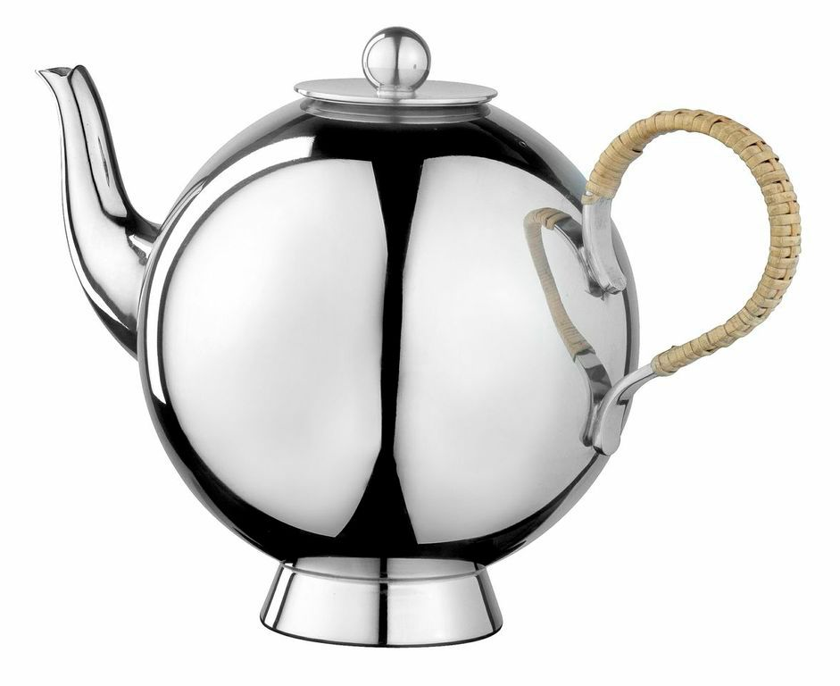 Spheres large tea infuser wicker handle