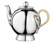 Spheres small tea infuser wicker handle