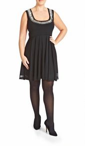 Empire line skater dress