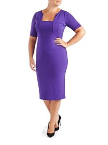 Grace Plus Size shift dress