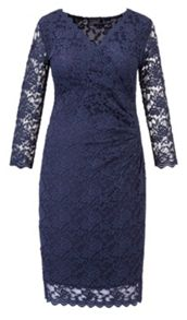 Grace Made in Britain scalloped lace dress
