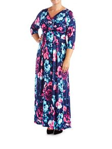 Grace Plus Size Midi Dress