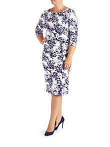 Plus Size floral shift dress