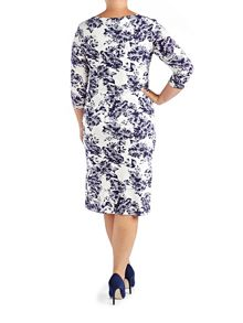 Grace Plus Size floral shift dress