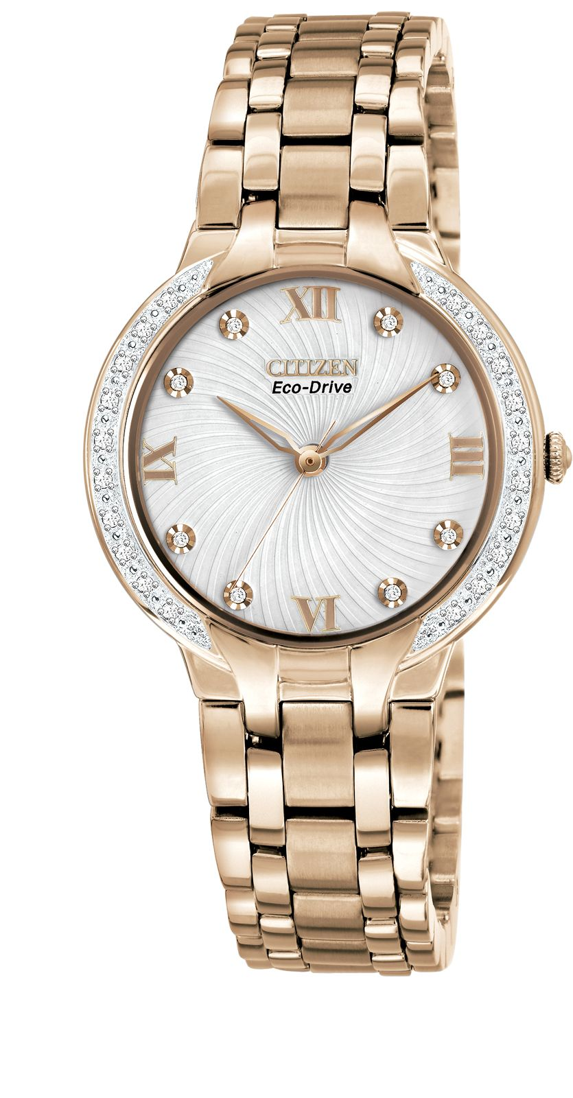Citizen Eco-drive bella 28 diamonds ladies watch