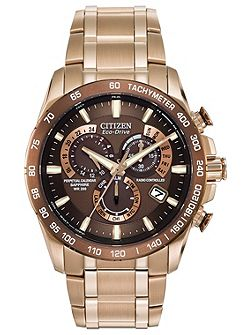 AT4106-52X mens rose gold bracelet watch