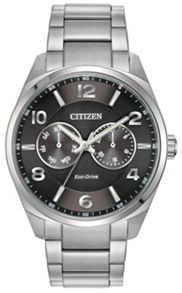 Citizen AO9020-84E Eco-Drive  silver bracelet solar watch