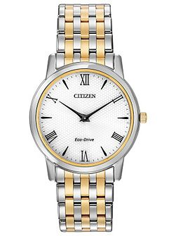 AR1128-58A mens two-tone bracelet watch