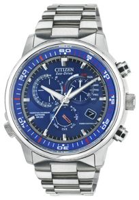 AT4110-55L Eco-Drive chronograph solar watch