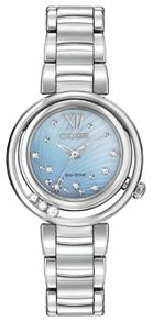 Citizen EM0320-59D ladies silver bracelet watch