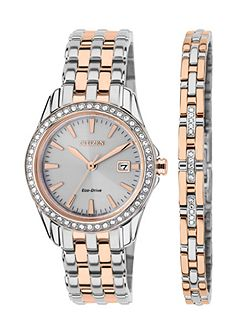 EW1909-64A ladies two-tone bracelet watch