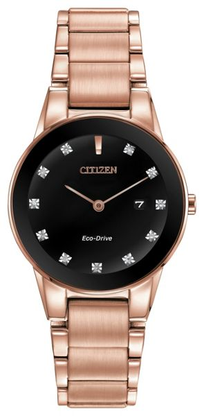 Citizen Ga1058-59q eco-drive bracelet watch